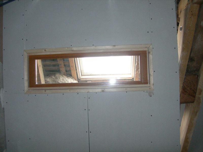 R novation d une maison en broc liande for Fenetre imposte